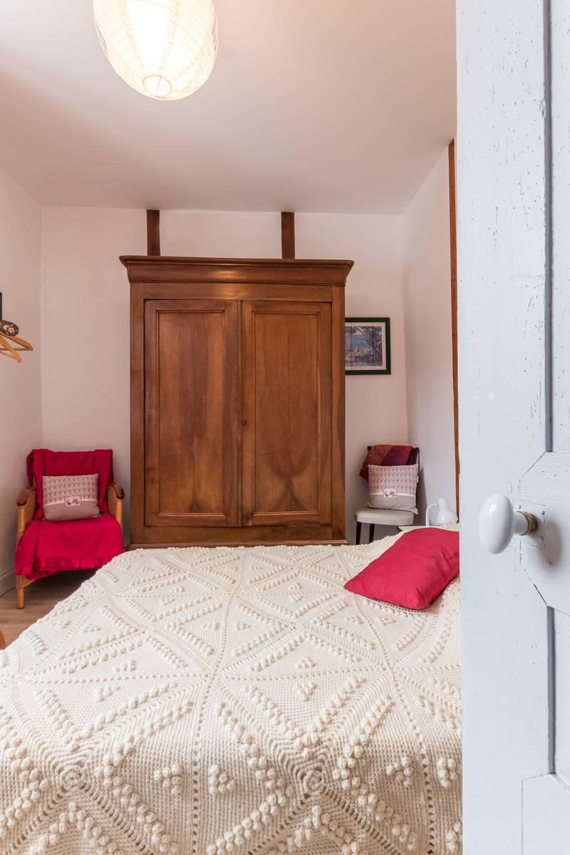 La maison Christal .Chambre avec vue sur la forêt
