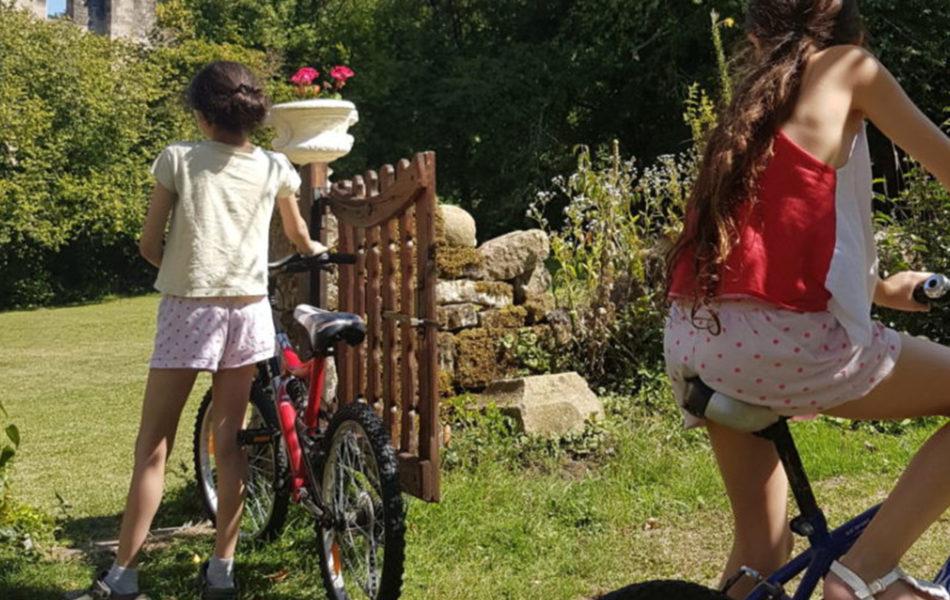 Prêt de vélos aux gîtes de Cherlieu