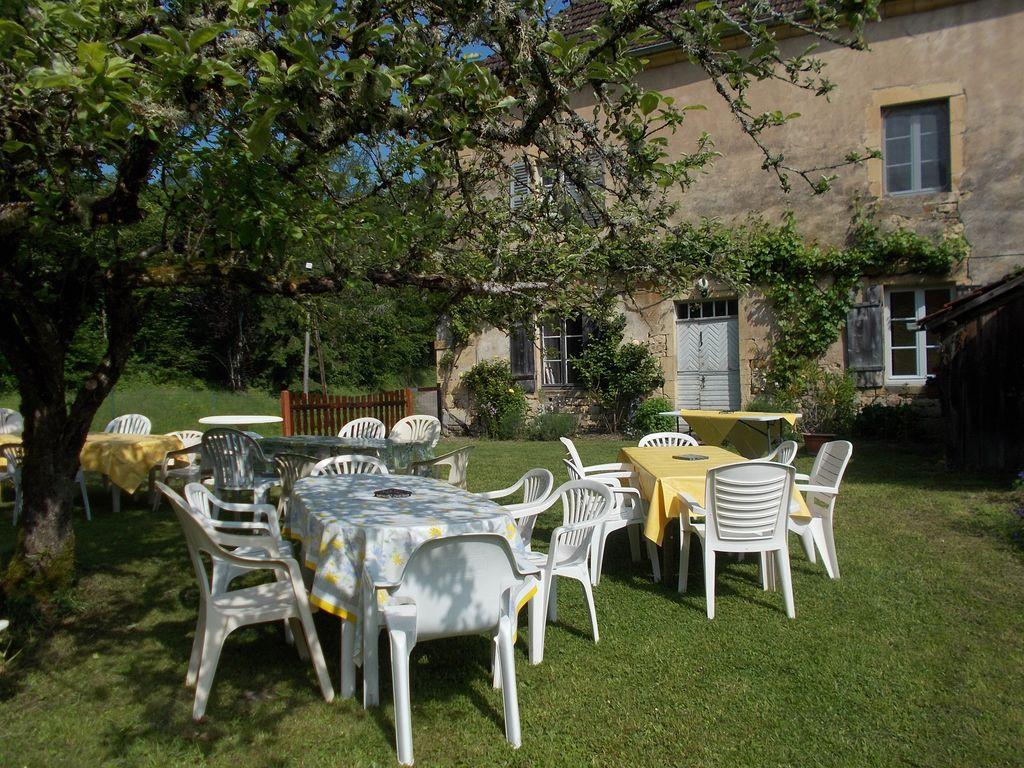 La maison Christal -Salon de jardin